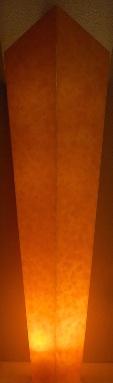 amber alabaster column