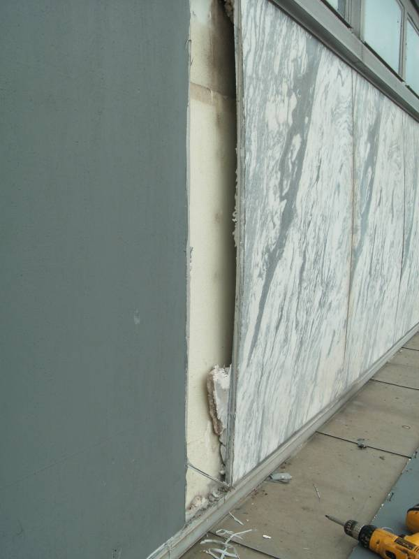Deterioration Of Marble Facades And Problems With Failed
