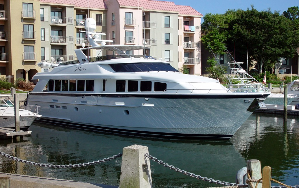 Yacht featuring StonePly