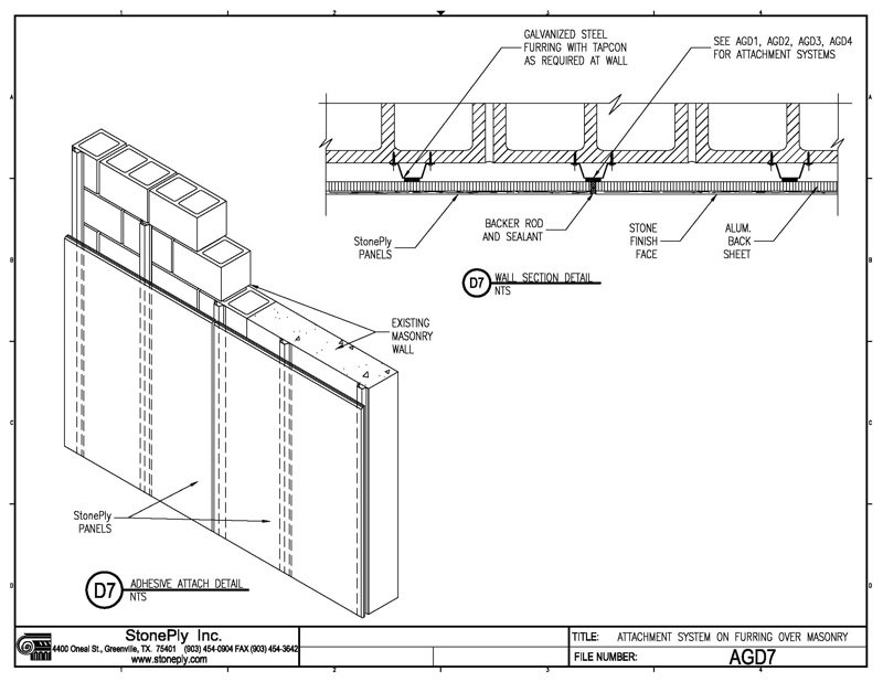 stoneply cad drawings and details