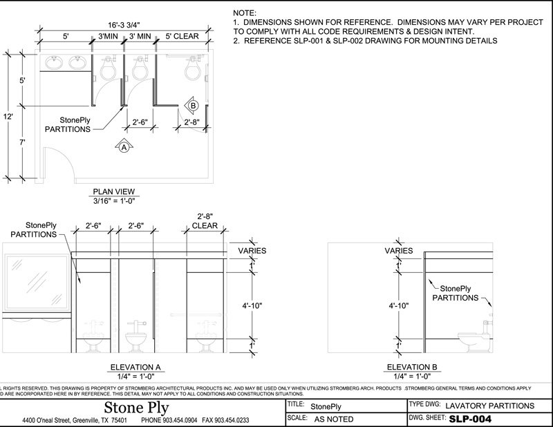 stoneply cad drawings and details stone panel information