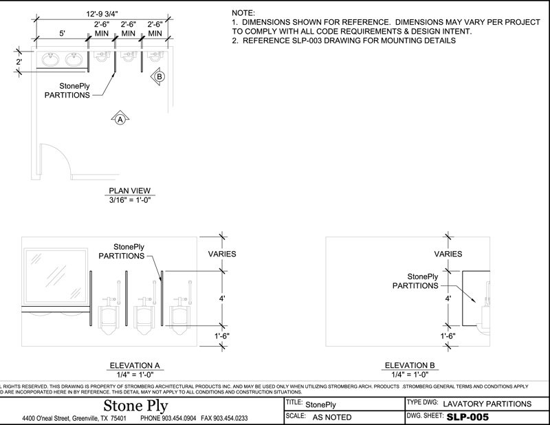 Stone Elevation Dwg : Stoneply cad drawings and details stone panel information