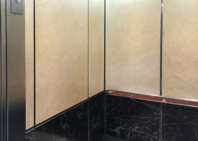 Metropolitian Hospital elevator